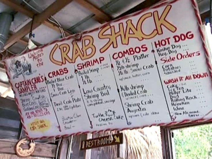 The Crab Shack Tybee Island, GA : Food Network - FoodNetwork.com