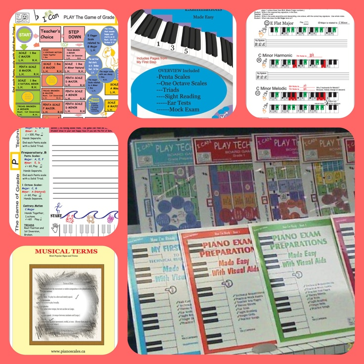 Learn piano in color