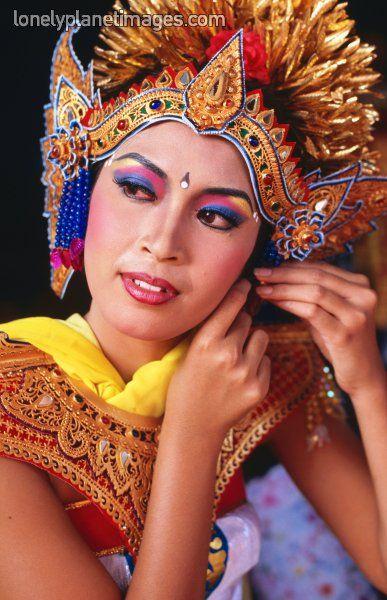 Barong bailarín, Jl Legian. Kuta, Bali, Bali, Indonesia.