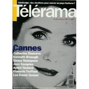 Télérama n°2262 du 19/05/1993 - Catherine Deneuve -... [magazine mis en vente par Presse-Mémoire]
