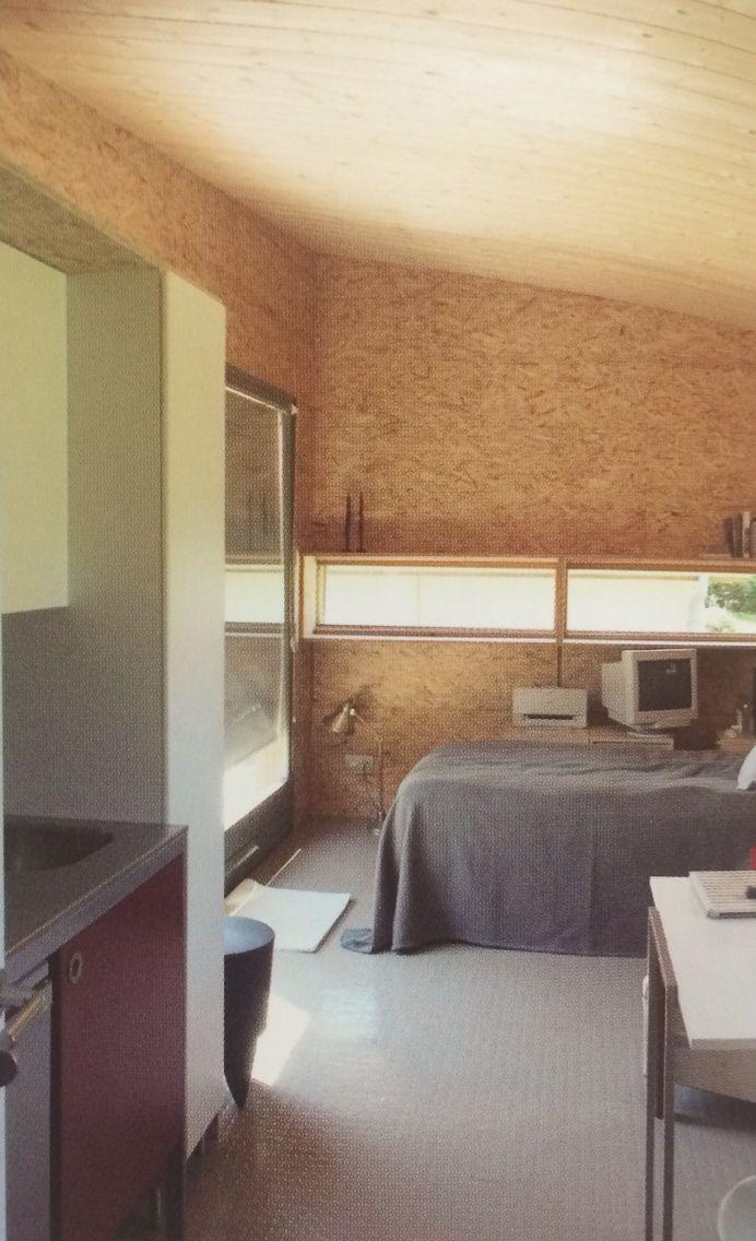 Le Cabanon: Architect - Cyril Brulé, Atelier Correia. Location - Villiers en Morvan, France. Size - 20m.