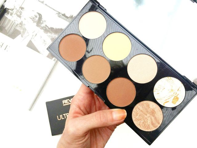 The Makeup Revolution Ultra Contour Palette Kit this pallete is a great  dupe for the ABH coutour kit love this Palette