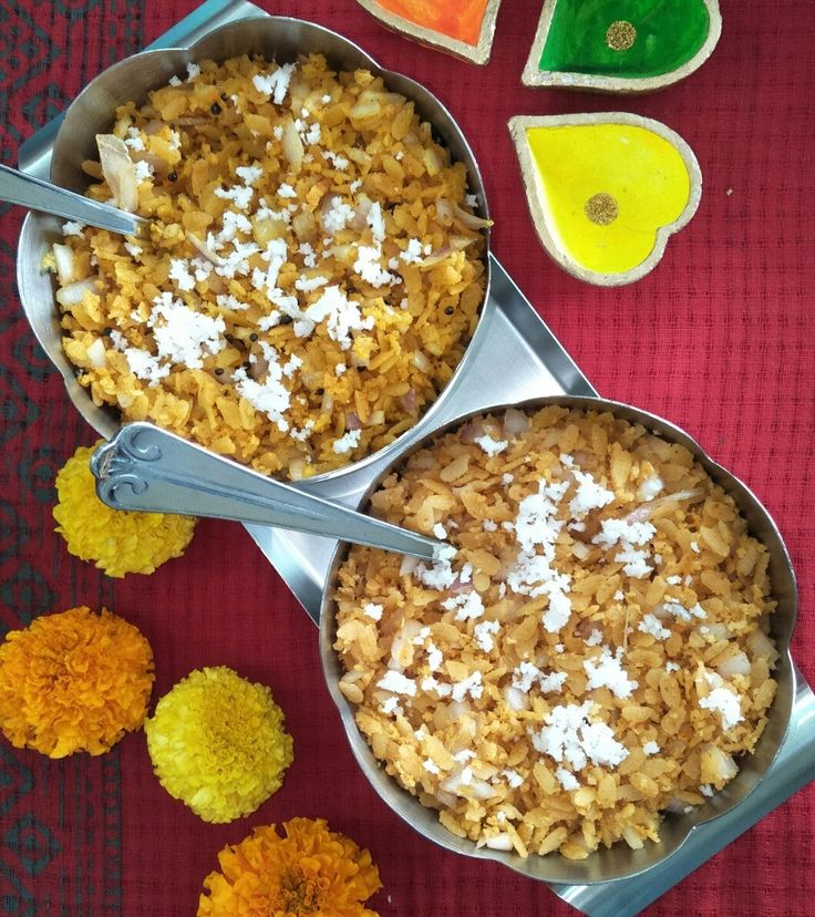 Masala Pohe Recipe (flattened rice) is a quick simple and healthy dish prepared by my grandmother especially on the first day of Diwali. It is a breakfast dish from the NKGSB cuisine of KARWAR. Smoking method imparts a unique smoky and earthy flavour to the pohe.  This recipe doesnt require cooking and is very easy to prepare. The smoke (called dhuvan in konkani language) given to it with a hot coal makes it very delicious! One more option was given to me by a friend of mine and that is to…