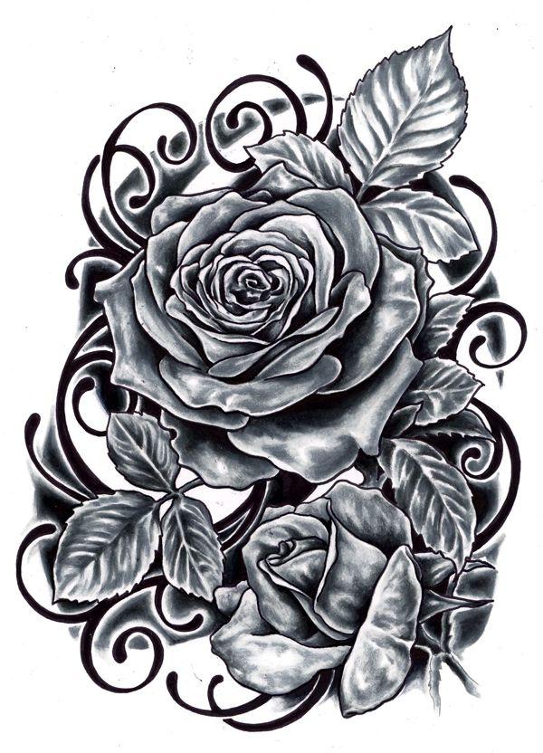roses tattoo designs google keress tattoos pinterest top tattoos black roses and popular - Tattoo Design Ideas
