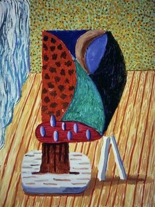 David Hockney | Painted Standing, 1994 - 95