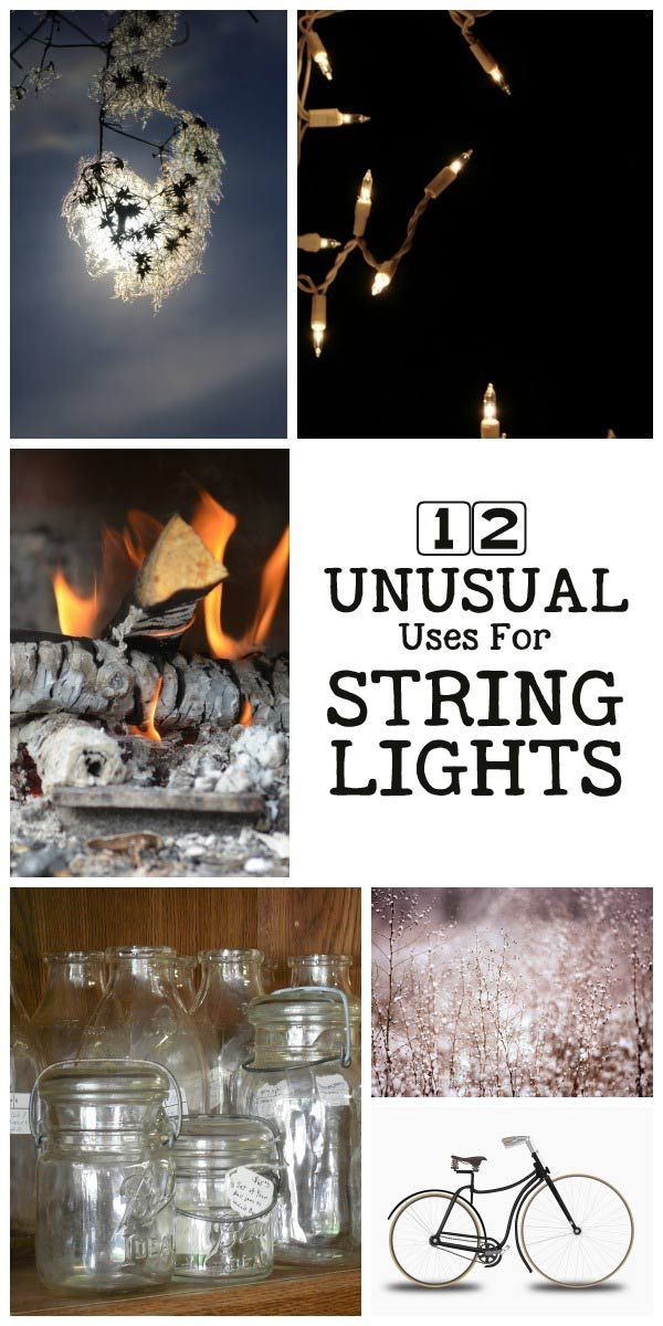 17 Best images about GARDEN -- Lights/Lighting on Pinterest Solar, String lights and How to hang