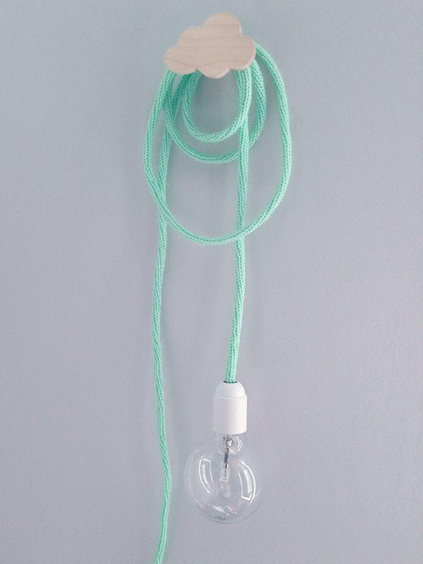 Baladeuse en laine (que je pourrais me faire si j'avais le temps...) - vert menthe 30€