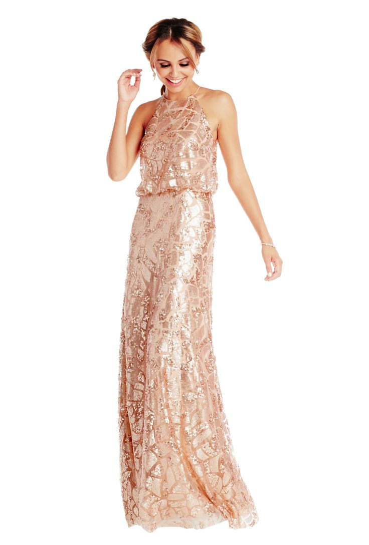 Donna morgan tiffany grey vows and bridesmaid gowns for Donna morgan wedding dresses