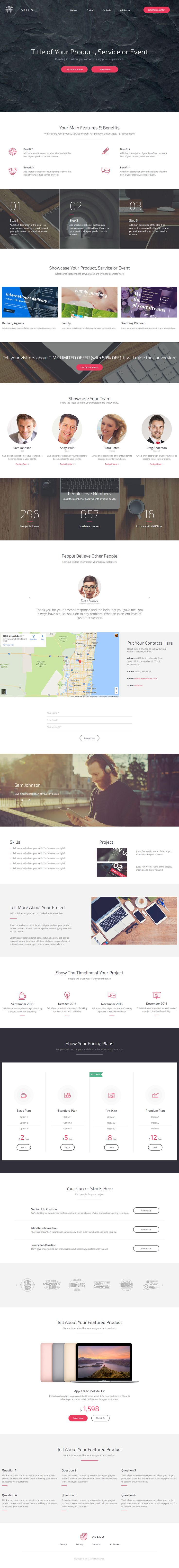 16 best insp / web / landing pages images on Pinterest | Page ...