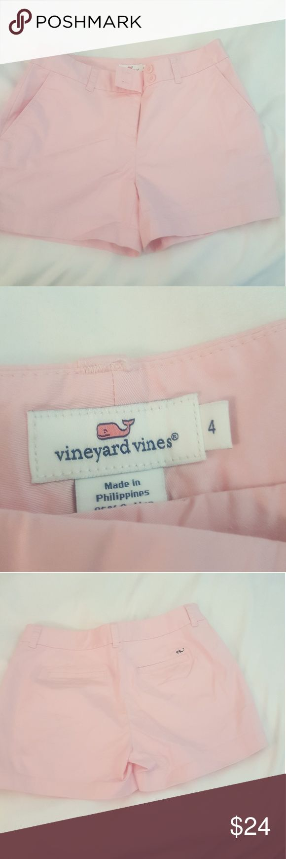 NWOT Vineyard Vines Shorts Light pink Vineyard Vines shorts. Took the tag off when I got them home, and never wore them. Flawless perfect condition,  5 in inseam. Vineyard Vines Shorts