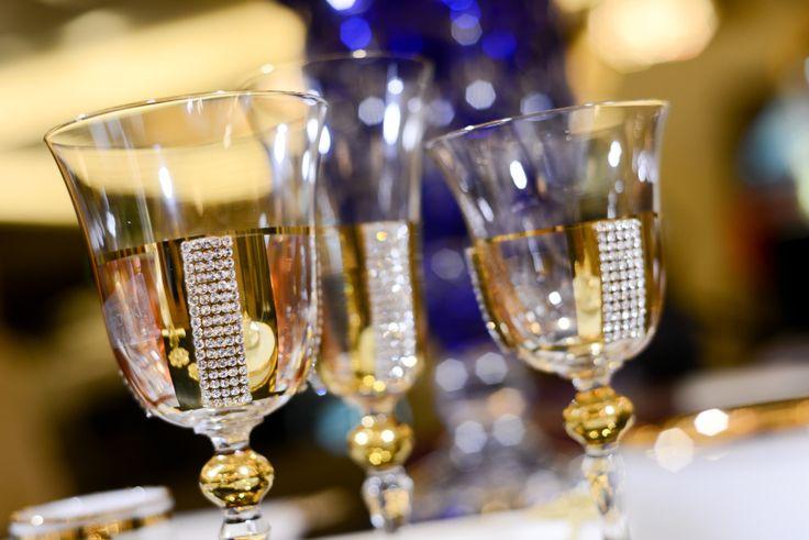 Luxurious glassware by Devine Design