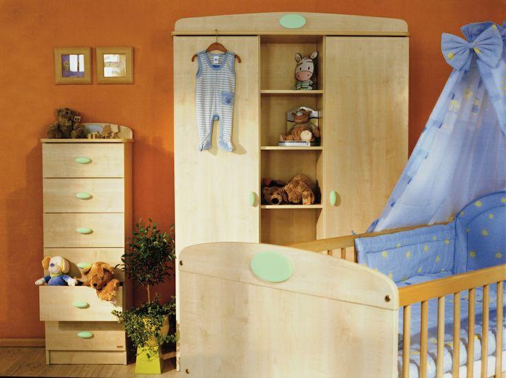Faktum Nelli green baby room / zöld Nelli babaszoba