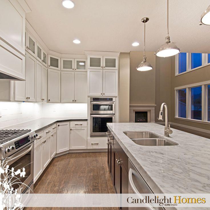 Candlelight Homes Utah Home Builder Kitchen Pendant Lighting Lights Granite
