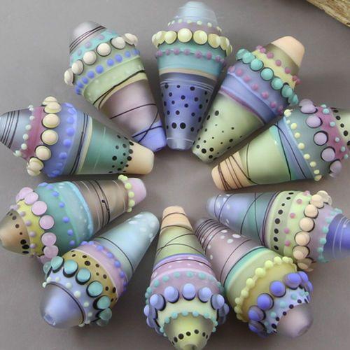 Magma Beads ~Gelato~ Handmade Lampwork Beads. | Jewelry & Watches, Loose Beads, Lampwork | eBay!