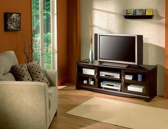 Casual Entertainment Center Furniture For Small Living Room