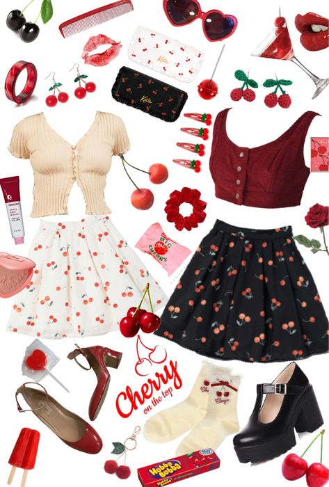 cherry kiss Outfit in 2020 | Fashion, Aesthetic clothes ...