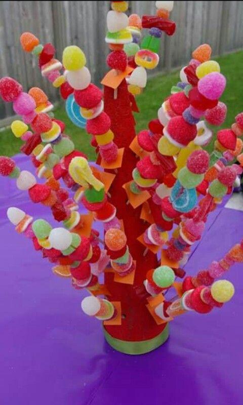 Dulces decoración para candy bar