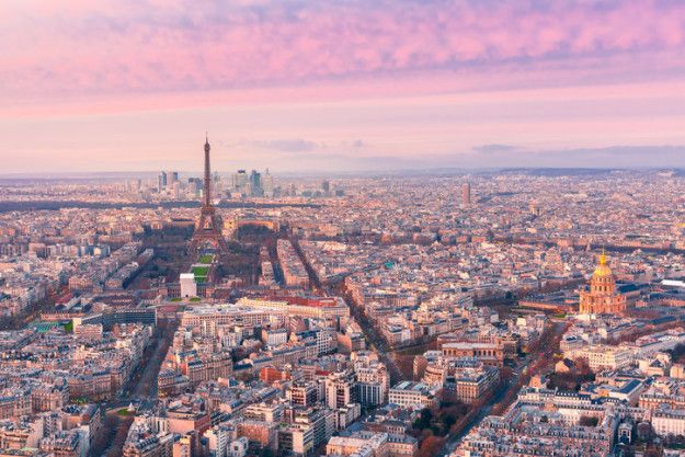 """Say """"au revoir"""" to the Eiffel Tower and take in a spectacular view of Paris atop the Tour Montparnasse. 