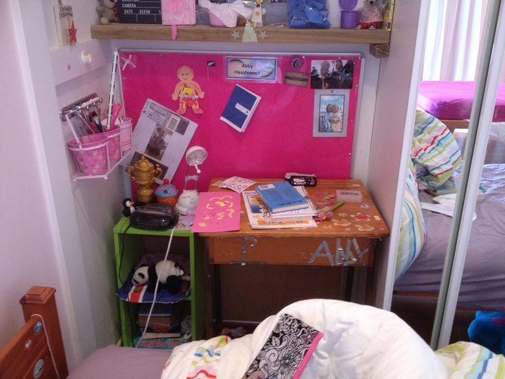 secret office in a wardrobe