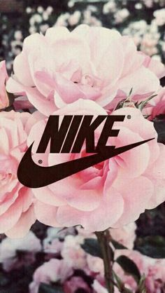 Imagen de nike, flowers, and wallpaper