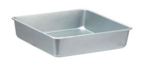 "Wilton 2105-8191 Aluminum Square Cake Pan, 8"" x 8"" x 2"""