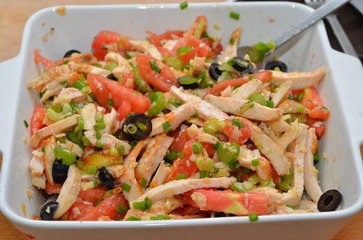 Салат из курицы «in Italian»   Это вкусно!