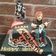 20 best heavy metal cake images on pinterest amazing
