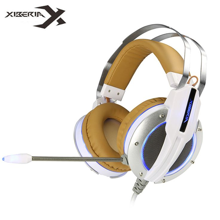 Xiberia X11 Best Computer Stereo Gaming Headphones Deep Bass Game Earphone Headset with Vibration Function/Mic for PC Gamer