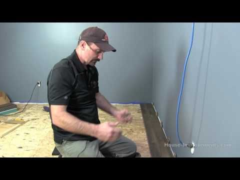 How To Install Vinyl Plank Flooring - YouTube