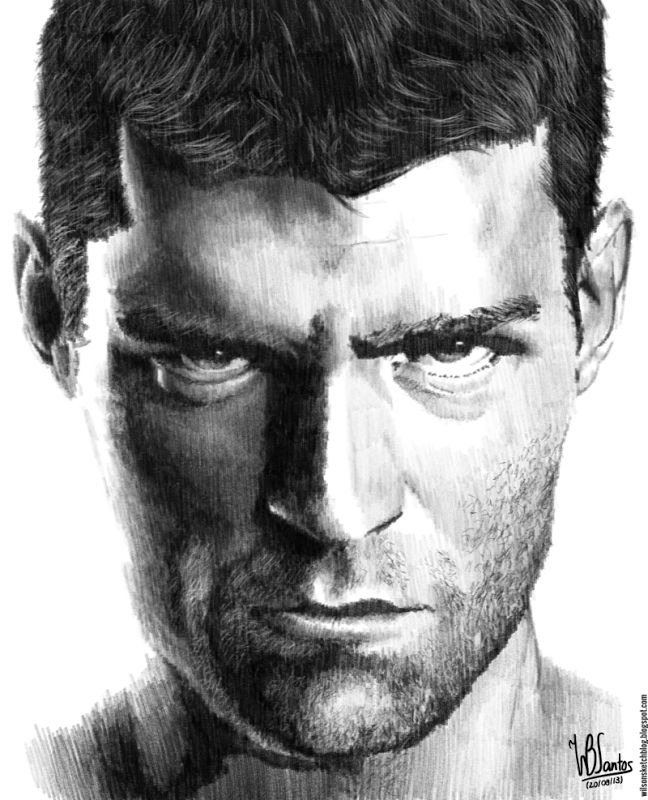 Pencil drawing of liam mcintyre as spartacus using krita 2 7 alpha tegning portrett pinterest liam mcintyre and spartacus