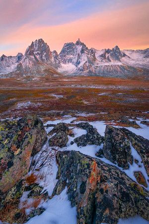 Images from inside the Tombstone Territorial Park, Yukon, Canada