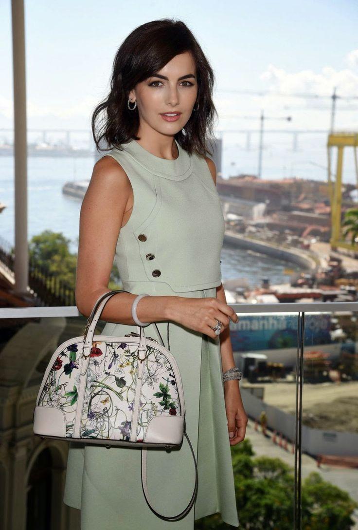 Camilla Belle rocks Gucci in Brazil