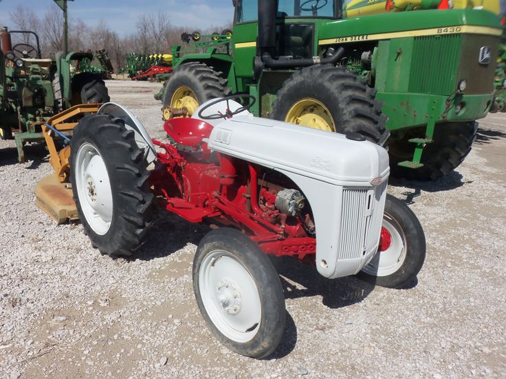 Ford 9n Mower : Little ford n tractor general pinterest