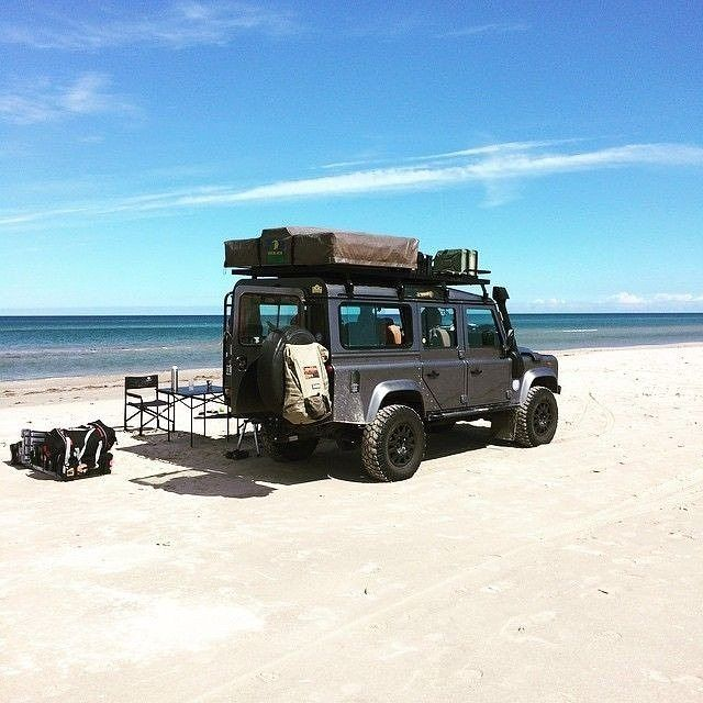 """Land Rover Defender 110 Td4 Sw Camping. """"Beach Life…"""""""