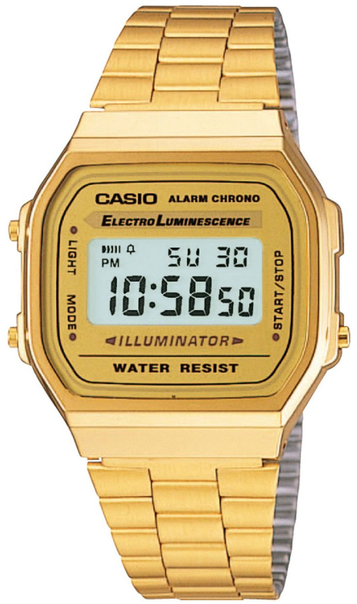 Casio Digital Gold - Casio Watches at Watches Online - 100% genuine, Shipped from NZ