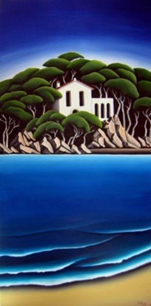 Mediterranean Cove by Diana Adams