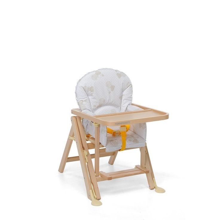"Foppapedretti High Chair for rent in Venice Italy!   Strong, steady and wood high chair. It is high quality product ""Made in Italy"". It can become also a low chair. Non-toxic varnishing."