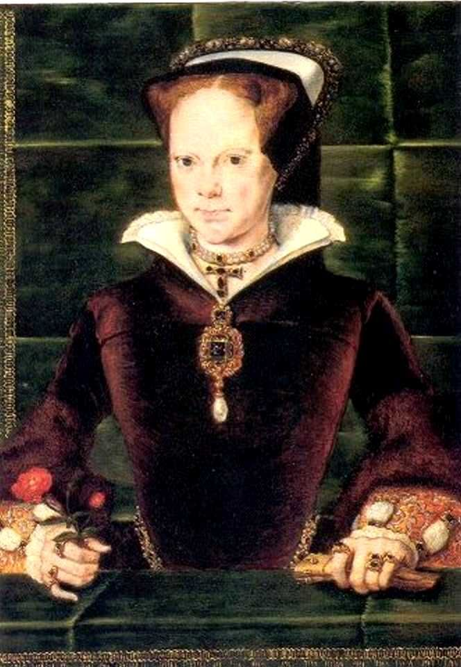 This portrait hints at the more positive side of Mary: her generosity to friends, her courage and honesty