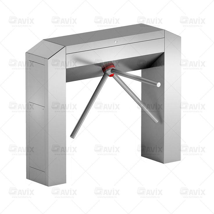 Трехштанговый тумбовый турникет (трипод) Modul Cross 3-Arm #турникеты #трипод #готшлих #gotschlich #box #tripod #turnstile #gate