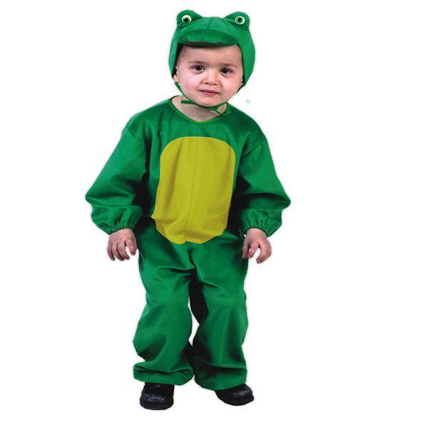 DisfracesMimo, disfraz de rana barata infantil 1 a 2 años.Compra tu disfraz barato y transformarás a los pequeños de la familia en el conicido personaje de Barrio Sésamo.  Viste a tu reportero verde  preferido en  fiestas temáticas, escolares y animales