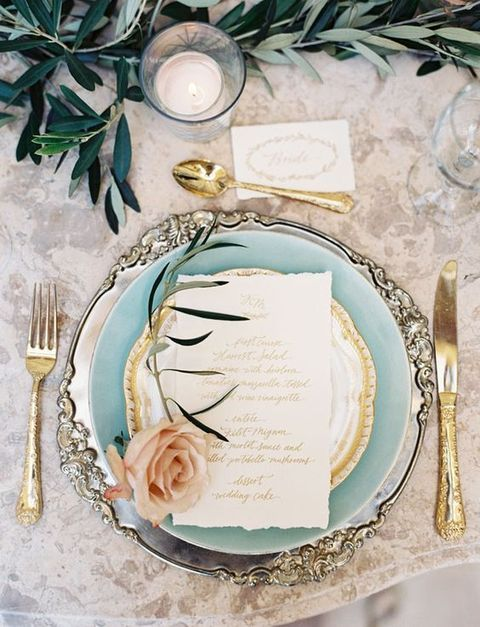 44 Refined Vintage Wedding Table Settings | HappyWedd.com