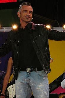 Eros Ramazzotti (cause Italian singers are usually sexy. And his music is great(: )