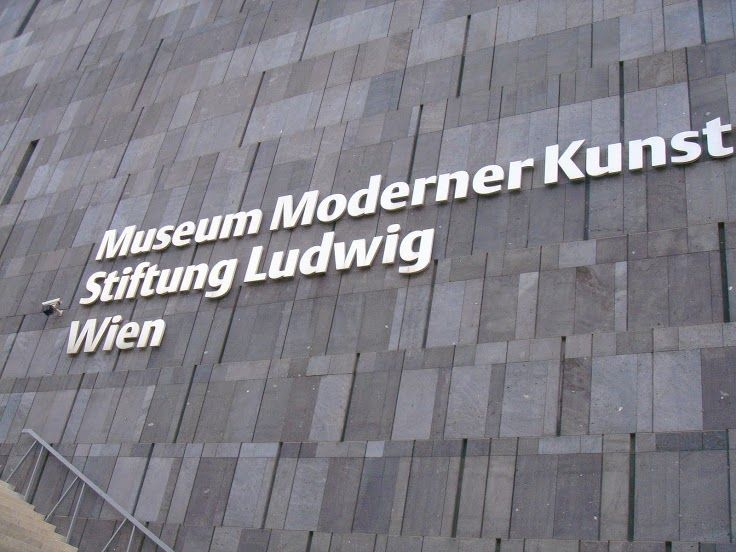 Museum Moderner Kunst Mumok Vienna Austria Vienna Tile Floor Flooring