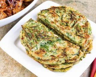 Crêpes fourrées aux légumes à la coréenne : http://www.fourchette-et-bikini.fr/recettes/recettes-minceur/crepes-fourrees-aux-legumes-la-coreenne.html