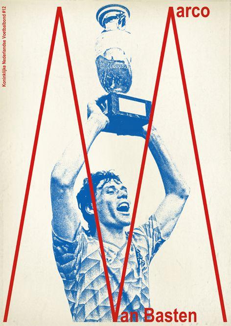 Marco Van Basten Netherlands '88.