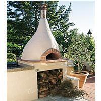 Piccolo wood burning outdoor oven from Mugnaini Imports