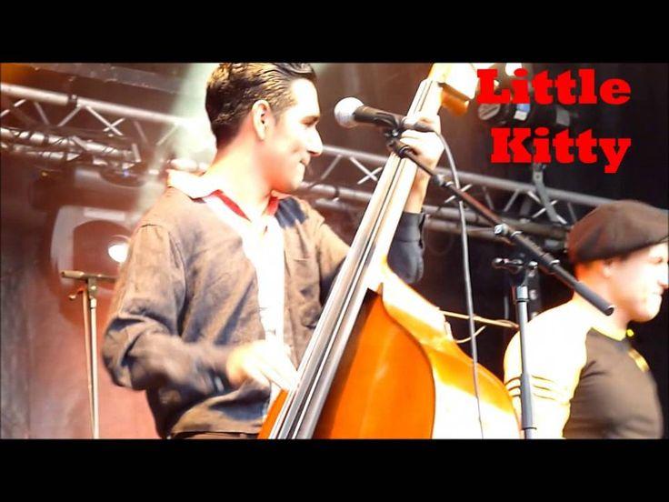 Bébo & The Goodtime Boys -Little Kitty - WILD RECORDS -Béthune Rétro 2015
