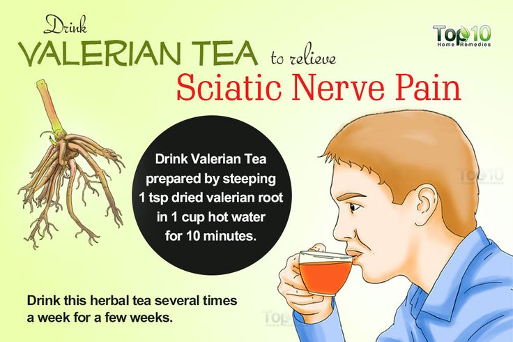 sciatic nerve pain valerian tea