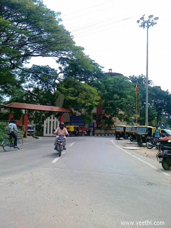 Road View at C V Raman Nagar Bangalore