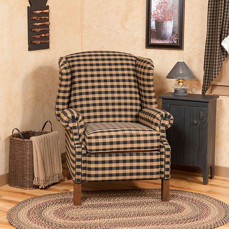Reclining Classic Wingback Chair                                                                                                                                                                                 More